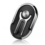 2 ühes - Telefonihoidja Sõrmus ja Autohoidik (must)