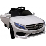 Electrical car Mercedes M4 replica (white)